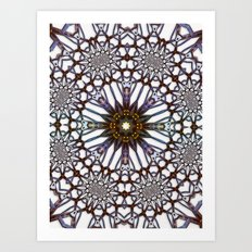 Gate Star Art Print