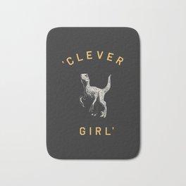 Clever Girl (Dark) Bath Mat
