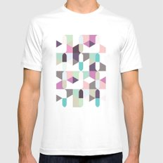 Paradise MEDIUM White Mens Fitted Tee