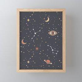 Mystical Galaxy Framed Mini Art Print