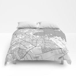 Doha Map Line Comforters