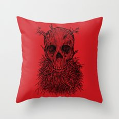 The Lumbermancer Throw Pillow