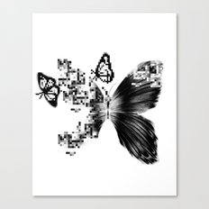 pixelated Canvas Print