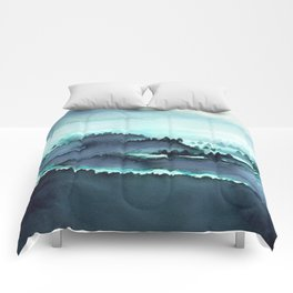French Mountains Comforters