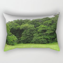 Trees at the Bottom Rectangular Pillow