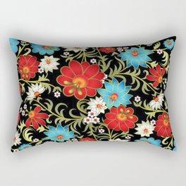 Art Flowers V6 Rectangular Pillow