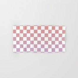 Checkerboard Sunrise Hand & Bath Towel