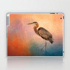 Sunset Heron Laptop & iPad Skin