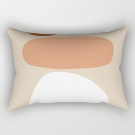 Abstract Shape Series - Stacking Stones Rectangular Pillow