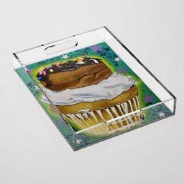 DonutCupcake Acrylic Tray