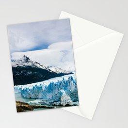 Perito Moreno Glacier Los Glaciares National Park Patagonia mountain landscape glacier mountains Argentinian Patagonia Santa Cruz Province Argentina Stationery Cards