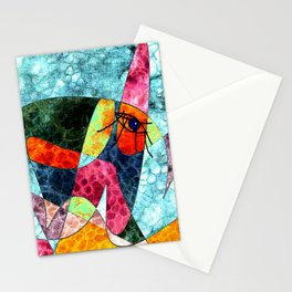 The laughing horse Stationery Cards