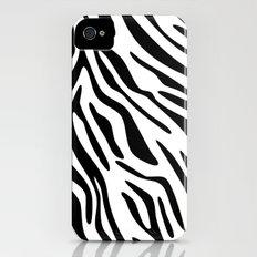 Zebra iPhone (4, 4s) Slim Case