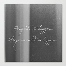 Made to Happen Canvas Print