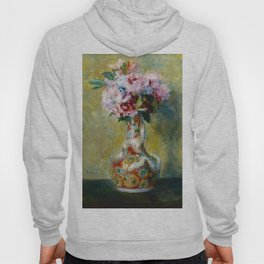 Bouquet in a Vase by Pierre Auguste Renoir Hoody