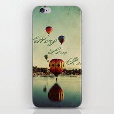 Letting Love Rise iPhone & iPod Skin
