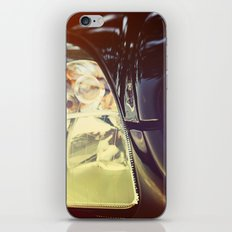 Vintage Car Photo iPhone & iPod Skin