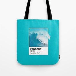 Pantone Series – Hawaiian Surf Tote Bag