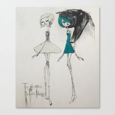 the adventures of isobelle pascha Canvas Print