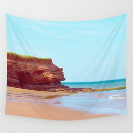 Red Cliffs Red Sands Wall Tapestry
