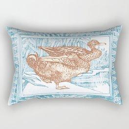 Duck ahoy Rectangular Pillow