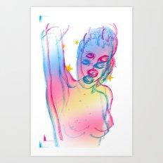 grrL2 Art Print