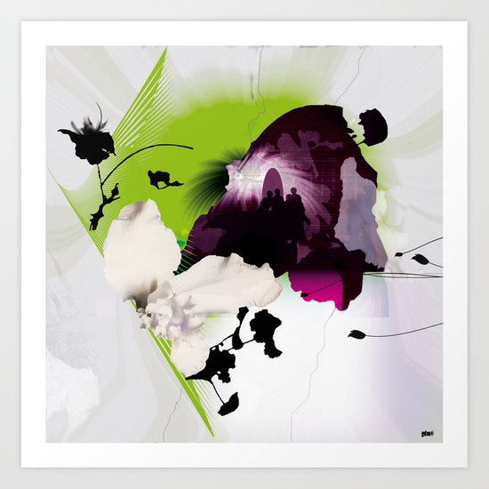 Fluctuating Art Print