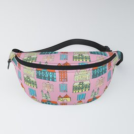 Budapest city Pink Fanny Pack