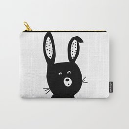Bunny Portrait Poster Carry-All Pouch