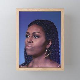 Queen Michelle Framed Mini Art Print