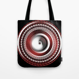 Spinning Out of Control Tote Bag