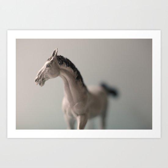 Tom Feiler Dollar Store Horse 1 Art Print