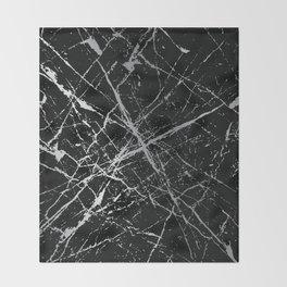 Silver Splatter 090 Throw Blanket
