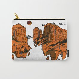 floating sedona mountain ridge Carry-All Pouch