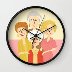 Thank you for being a friend Wall Clock