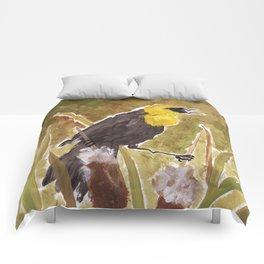 Yellow Headed Blackbird Comforters