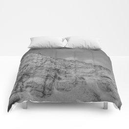 Eroding Graffiti Cliff Comforters