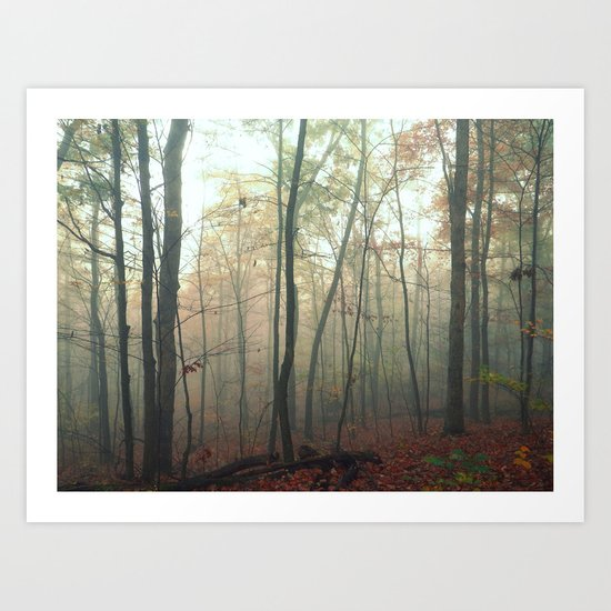 Wandering in a Fog Art Print