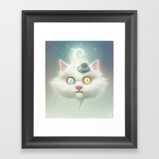 Release the Odd Kitty!!! Framed Art Print