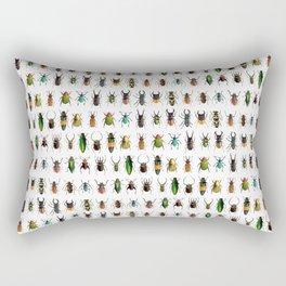 Magnificent Beetles Rectangular Pillow