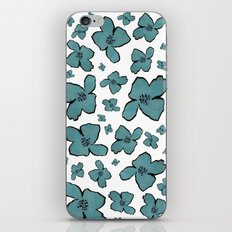 Blue Poppy iPhone & iPod Skin