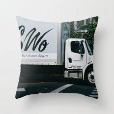 car 02 Throw Pillow