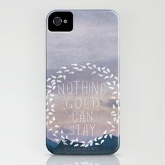 II. Nothing Gold Can Stay Slim Case iPhone (4, 4s)