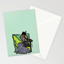 Overdressed and Overeducated Stationery Cards