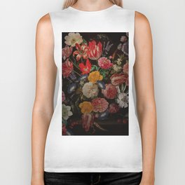 Vintage & Shabby Chic - Dutch Midnight Garden I Biker Tank