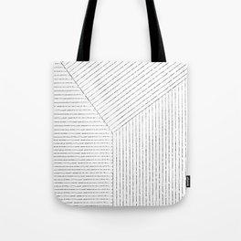 Lines Art Tote Bag