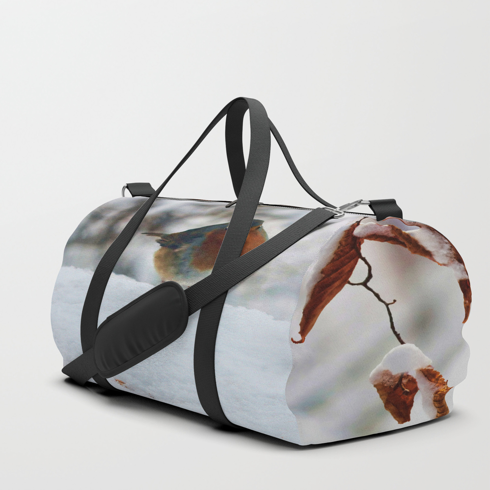 Robin Redbreast Duffle Bag by Valzart (DFL3880308) photo