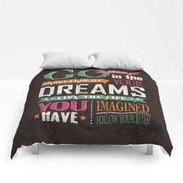 Go Confidently Comforters