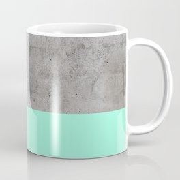 Sea on Concrete Coffee Mug