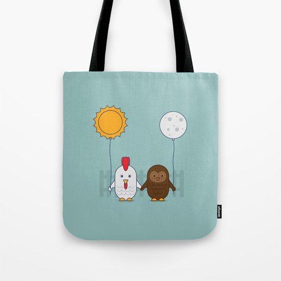 Early Bird & Night Owl Tote Bag